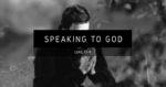 Speaking to God
